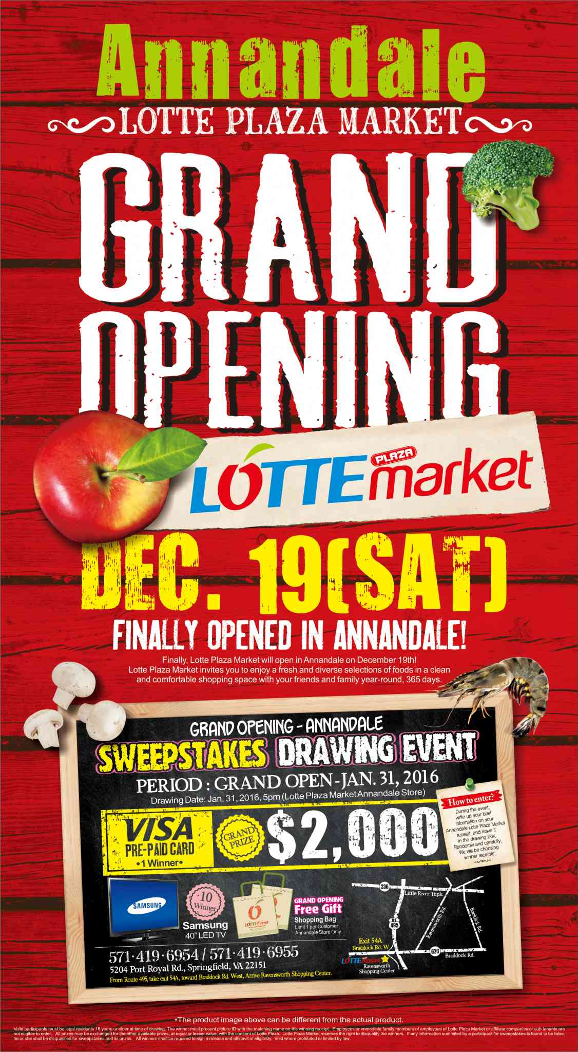 annandale grand opening lotte plaza market