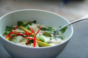Making Tom Kha Gai at Home!